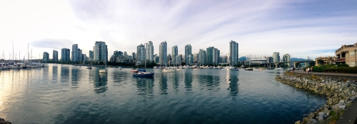 View on False Creek and Yaletown.